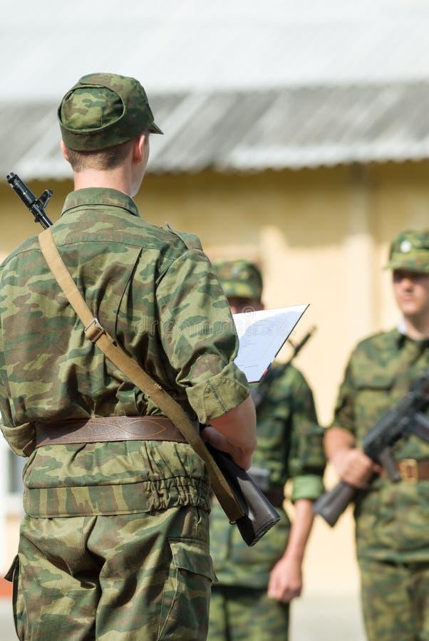 Russische Armee lizenzfreie stockfotos