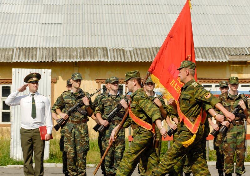 Russische Armeeparade lizenzfreie stockfotos