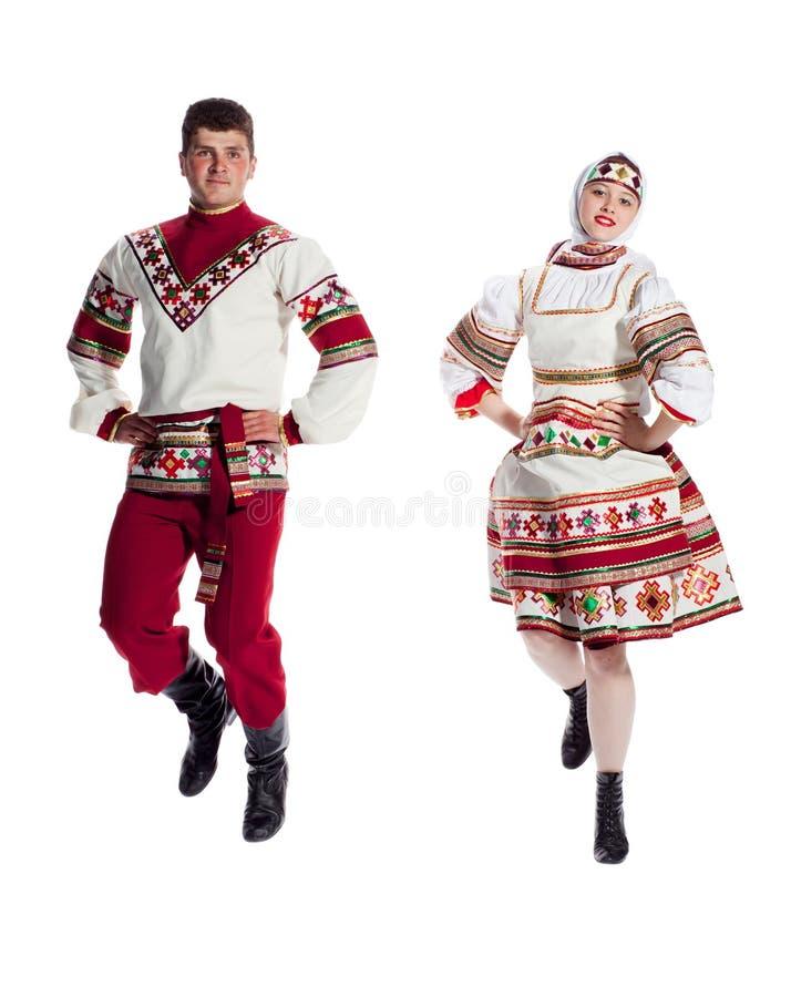 Russische dans royalty-vrije stock afbeeldingen