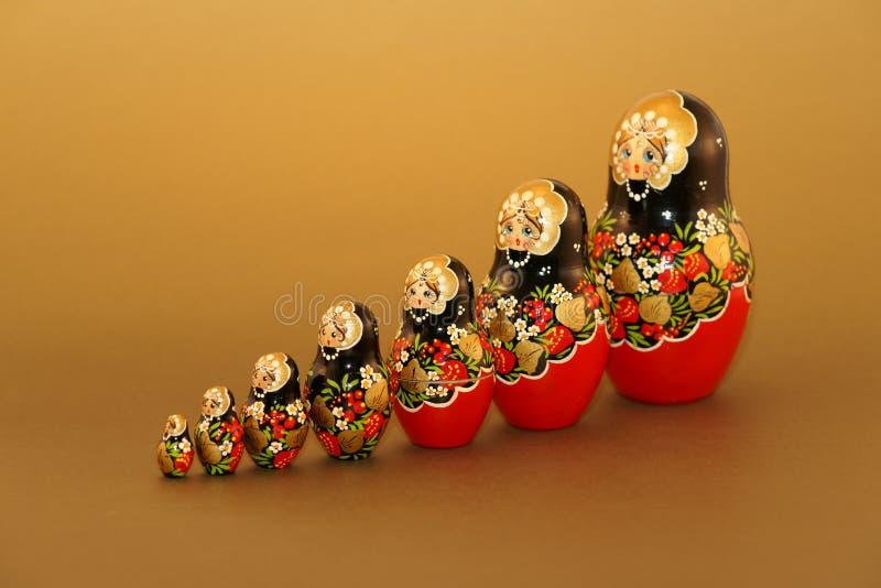 Russische Doll - Matruskas stock foto