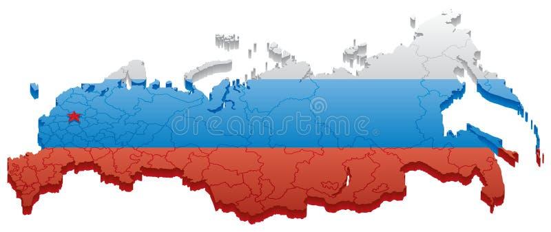 Russische Föderation vektor abbildung. Illustration von ...Russische Foederation