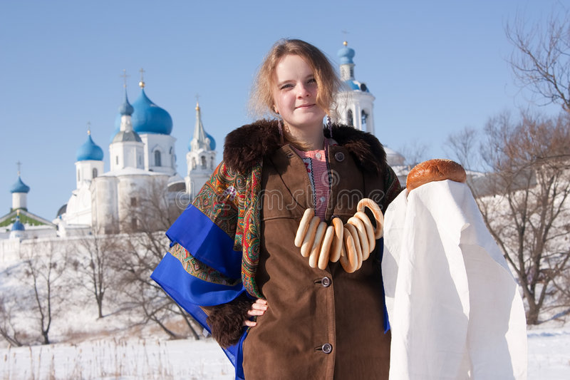 Russische Gastvrijheid Royalty-vrije Stock Foto