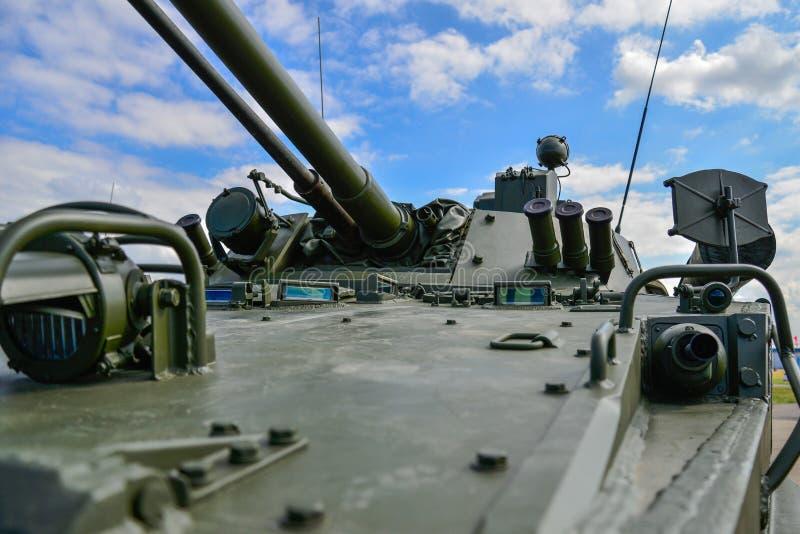 Russische gemotoriseerde artilleriehouwitser stock fotografie