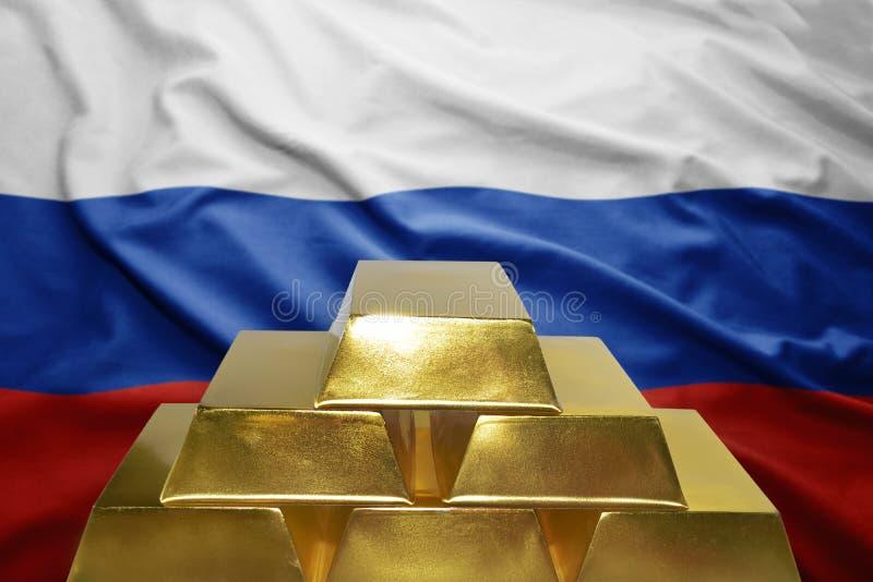 Russische gouden bezwaren royalty-vrije stock foto's