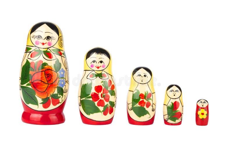Russische het nestelen pop royalty-vrije stock fotografie