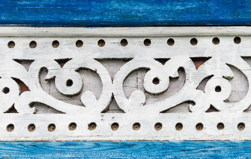 Russische houten draad royalty-vrije stock fotografie