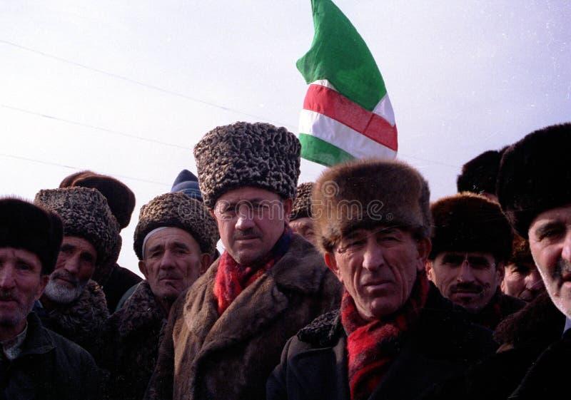 RUSSISCHE INVASION VON TSCHETSCHENIEN lizenzfreie stockfotografie