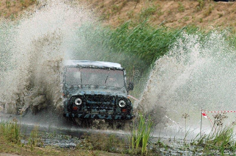 Russische jeep royalty-vrije stock afbeelding