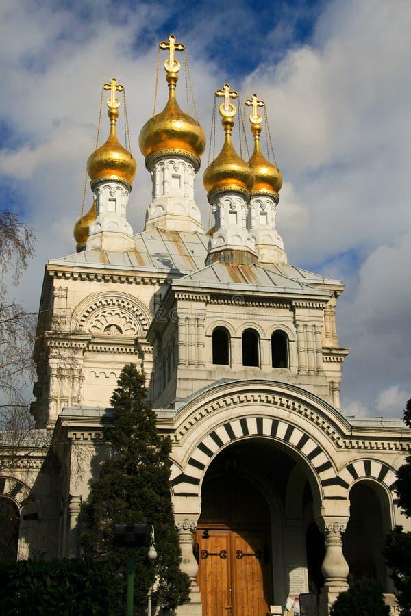 Download Russische kerk in Genève stock afbeelding. Afbeelding bestaande uit christen - 39111165