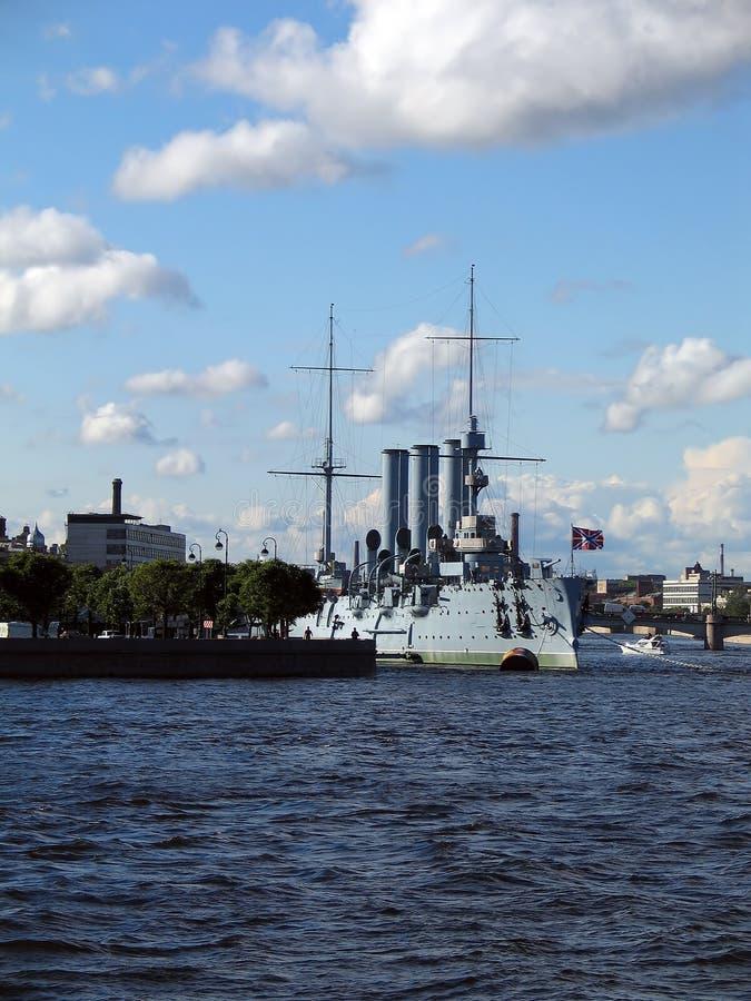 Russische Kruiser royalty-vrije stock foto's
