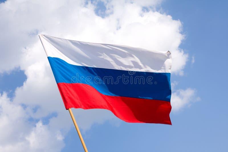 Download Russische Markierungsfahne stockfoto. Bild von farbe, eingebürgert - 5652862