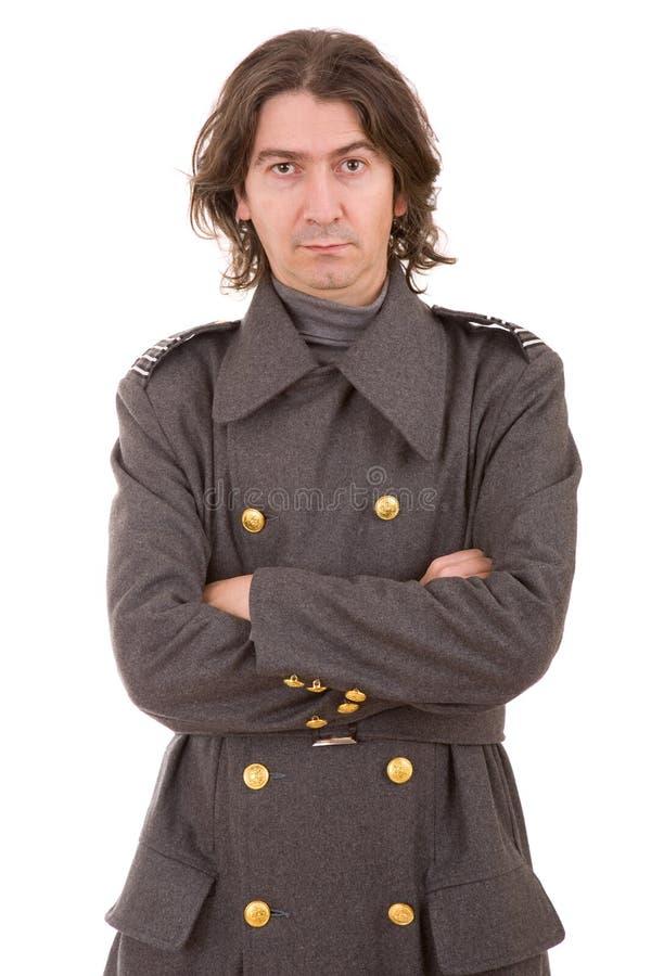 Russische militair stock afbeelding