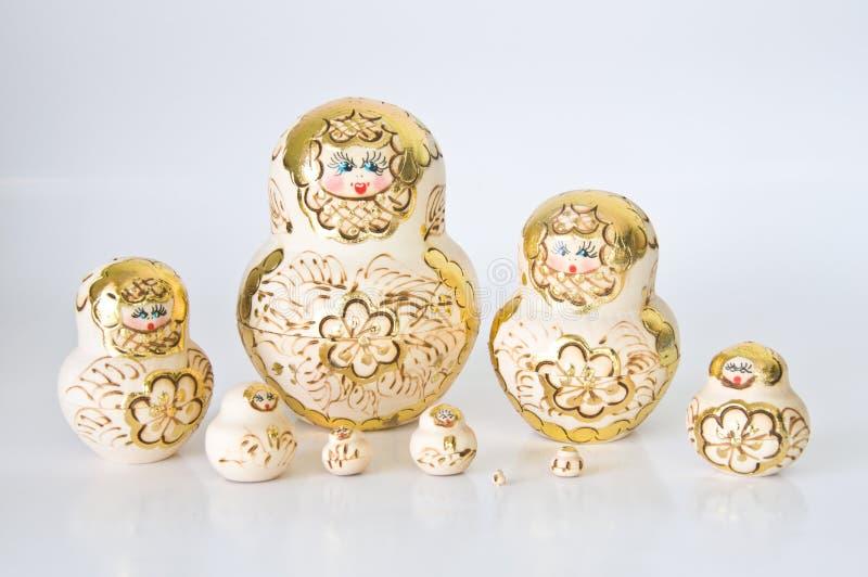 Russische nationale herinnering royalty-vrije stock foto