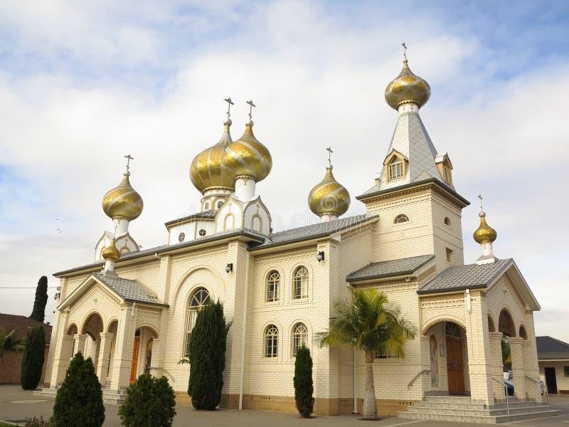 Russische Orthodoxe Kerk in Australië stock fotografie