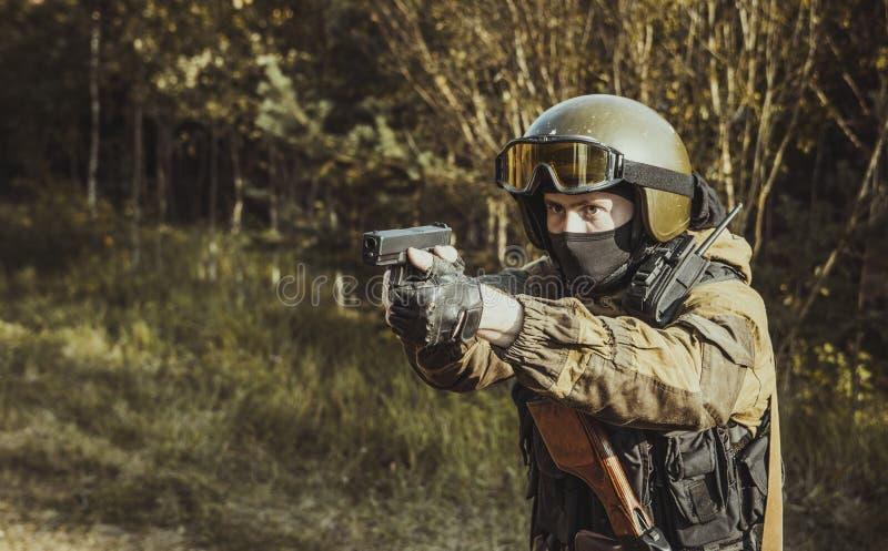Russische politie speciale kracht royalty-vrije stock fotografie