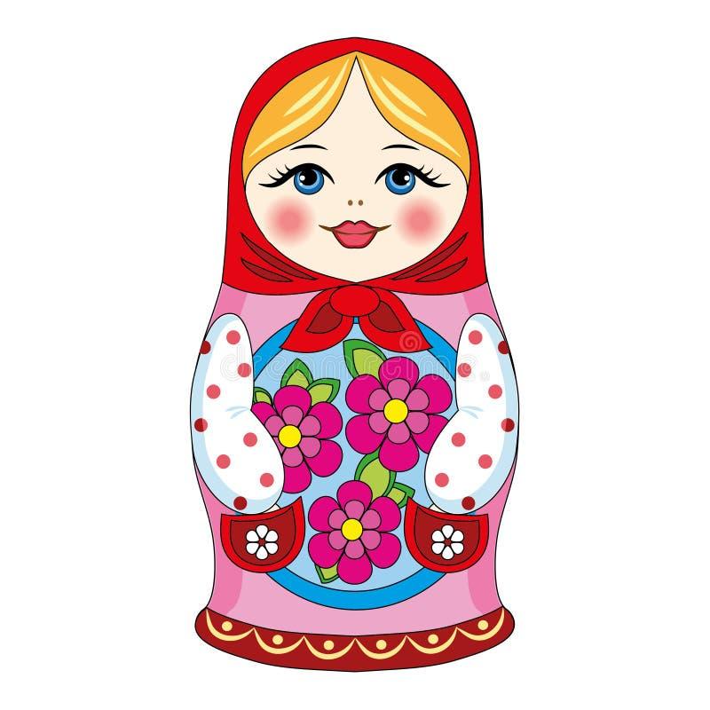 Russische pop royalty-vrije illustratie