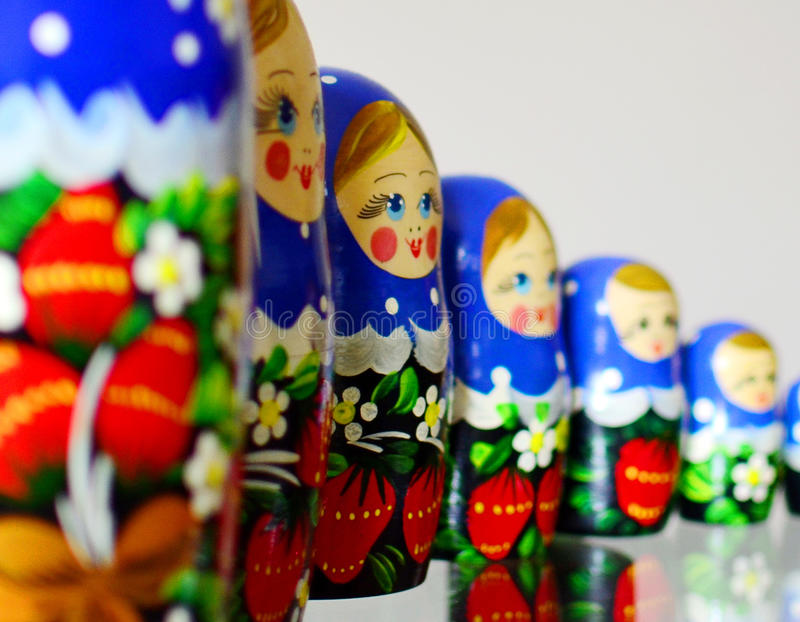 Russische pop royalty-vrije stock afbeelding