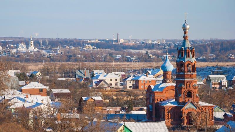 Russische provincie stock foto