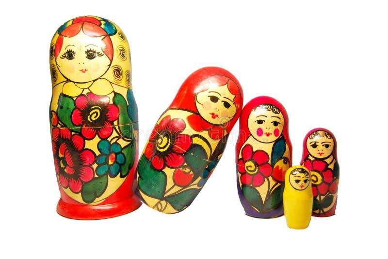 Russische Puppen stockbild. Bild von familie, tradition