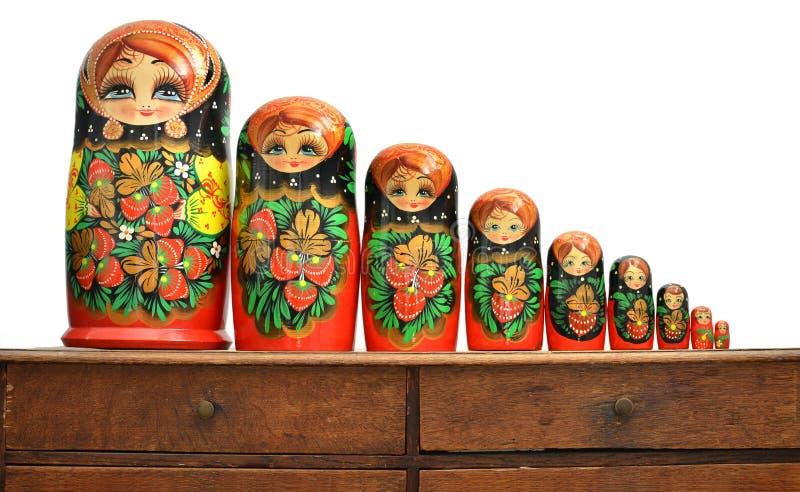 Russische Puppen stockbild