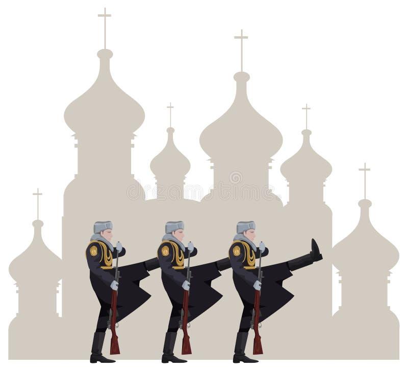 Russische Soldaten Stockfotos
