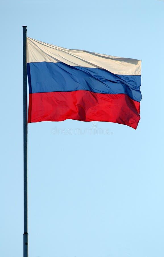Russische Vlag stock afbeeldingen