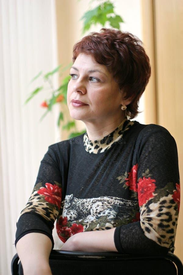 Russische Vrouw Stock Fotografie