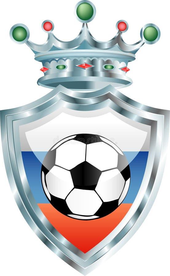Russischer Fußball stock abbildung