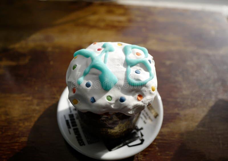 Russischer Ostern-Kuchen stockfoto