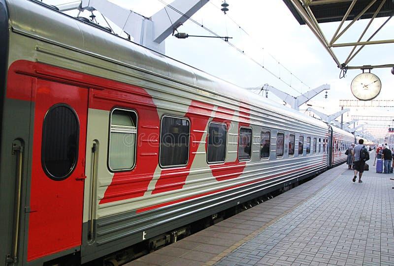Russischer Zug stockfoto