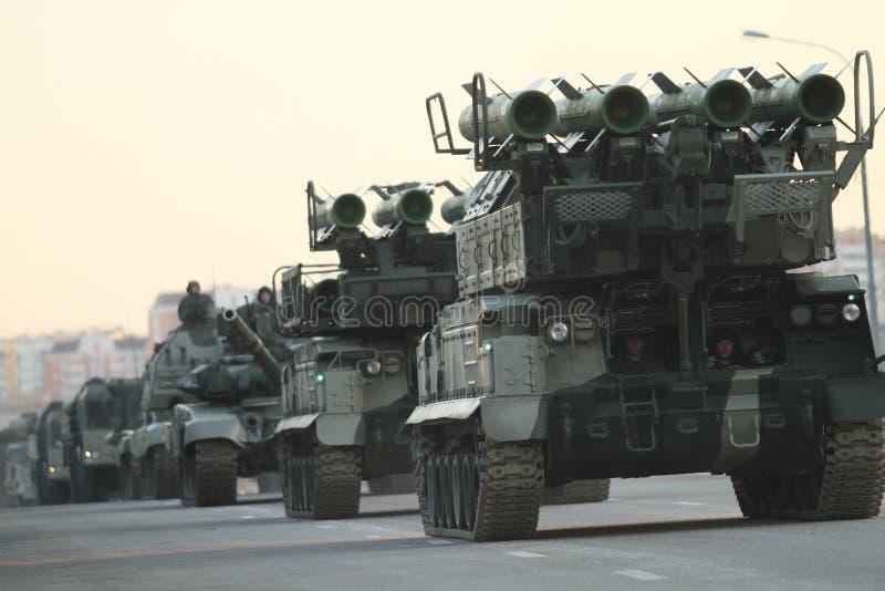 Russisches Armeemilitär lizenzfreies stockbild