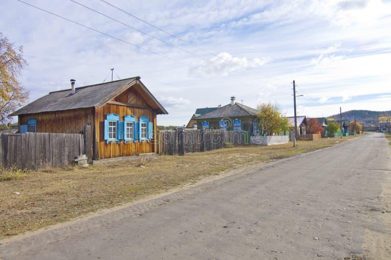 russisches dorf stockbild bild von himmel dorf zaun 27030721. Black Bedroom Furniture Sets. Home Design Ideas