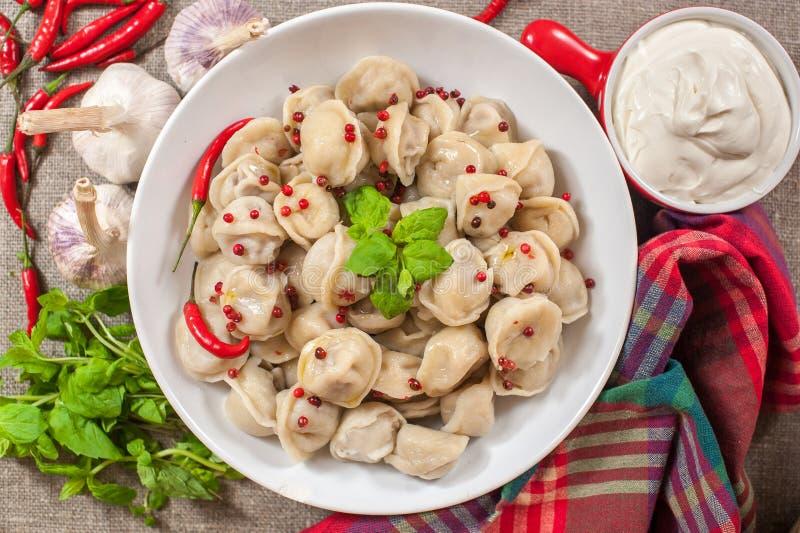 Russisches Lebensmittel lizenzfreie stockfotografie