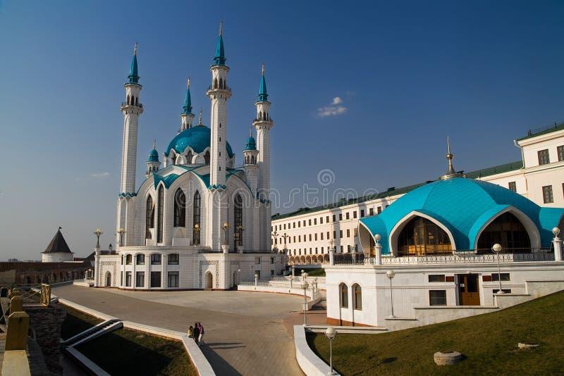 Russland, Kazan, Kul Sharif Moschee lizenzfreies stockfoto