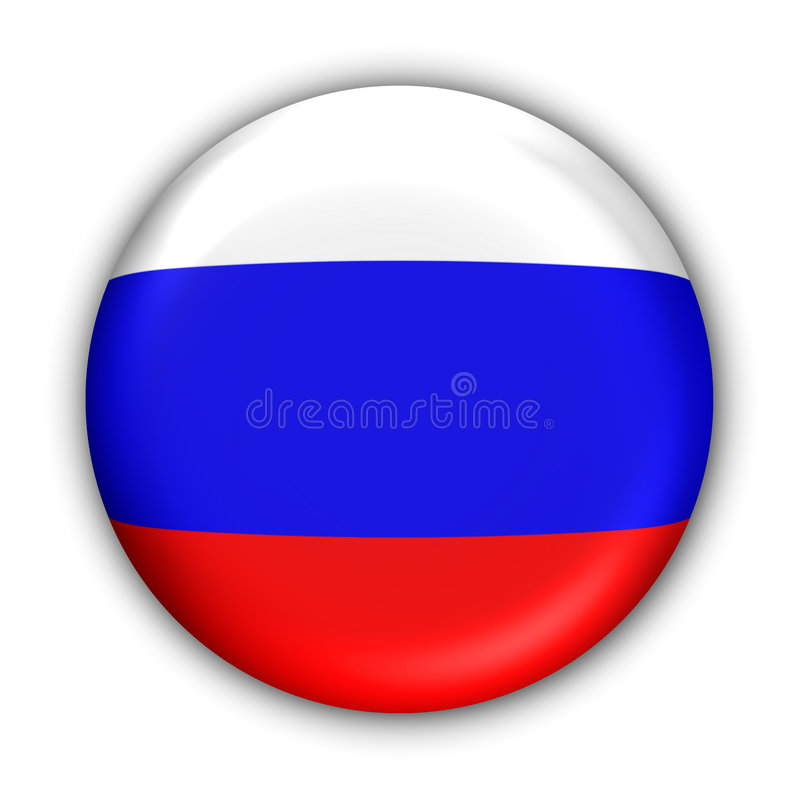 Russland-Markierungsfahne vektor abbildung
