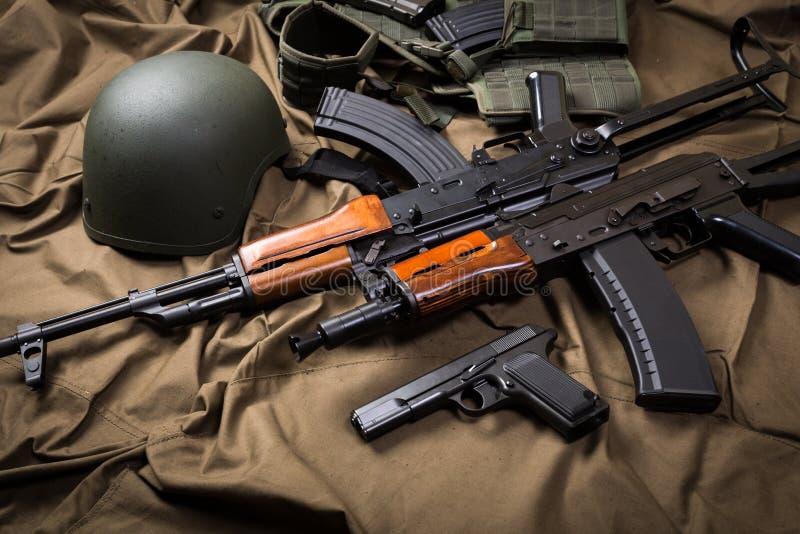 Russland-militärische Ausrüstung stockbild