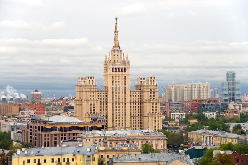 Russland. Moskau. stockfotografie