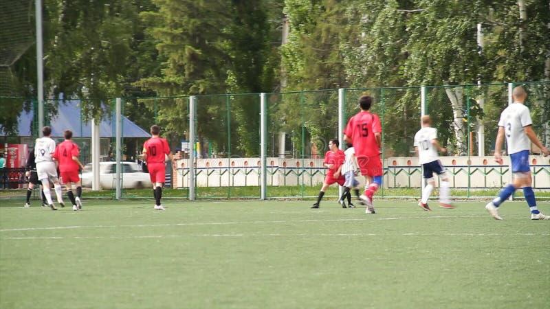 Laufende Fussball Fussball Spieler Fussballspieler Die