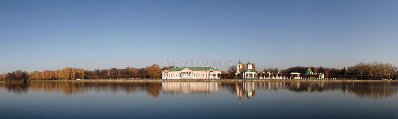 Russland. Moskau. Kuskovo Palast. lizenzfreies stockbild