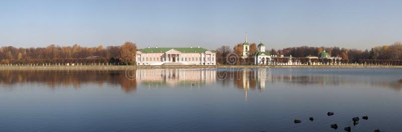 Russland. Moskau. Kuskovo Palast. lizenzfreies stockfoto