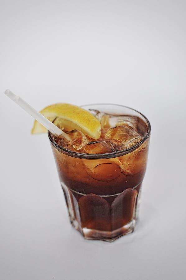 Russo nero del cocktail fotografia stock libera da diritti