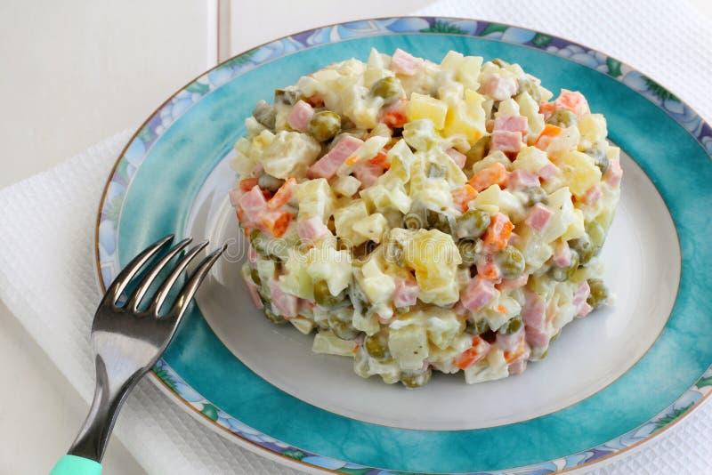 Russo Salat fotografia de stock