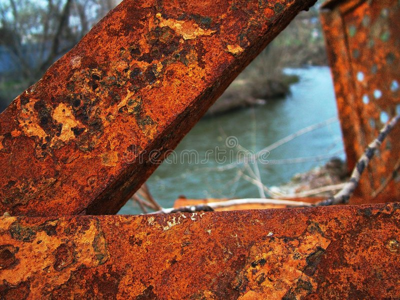 Download Rust stock image. Image of water, texture, river, yellow - 124895