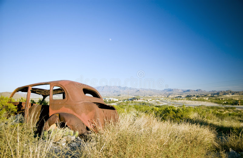 Download Rust Bucket stock image. Image of terrain, skyline, harsh - 3502465