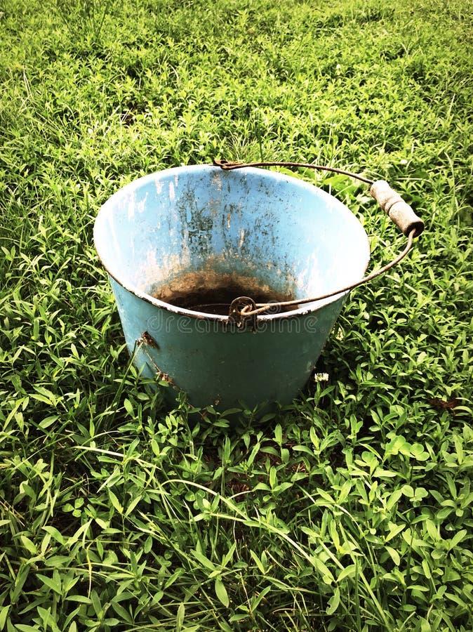 Rust bucket stock image