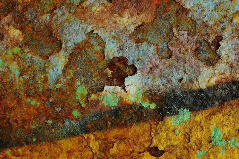 Rust Colors stock image