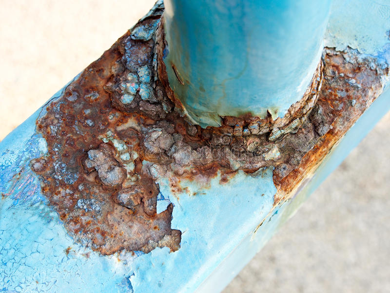 Rust and corrosion stock image