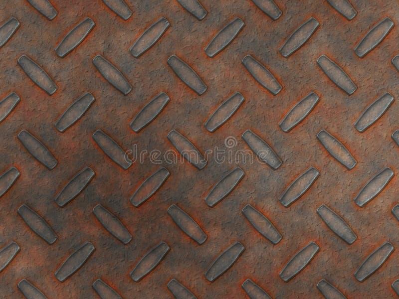 Rust Diamond Metal Stock Images