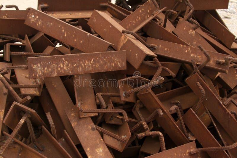 Rust metal parts stock photography