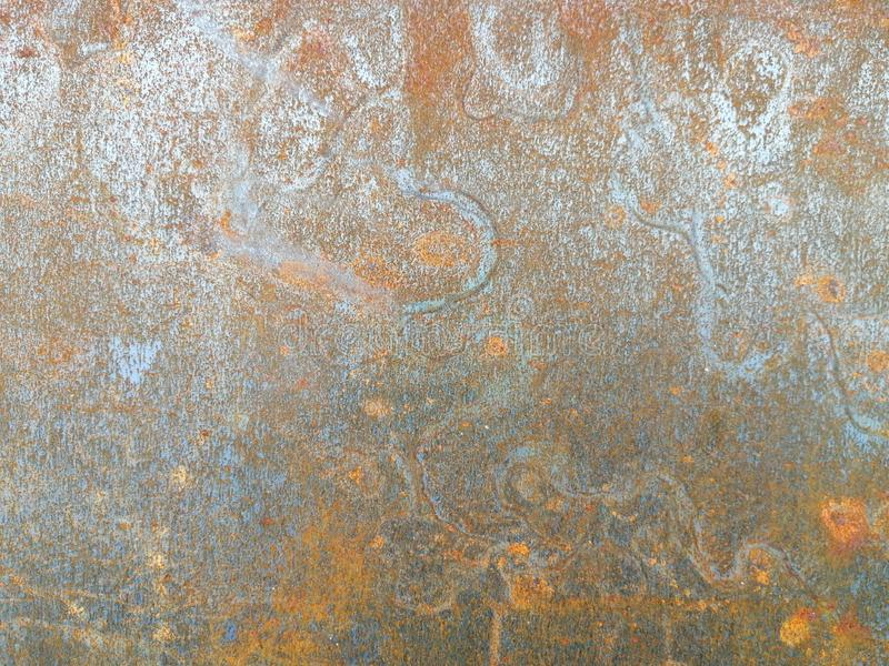 Rust old texture on iron floor wall background royalty free stock photography